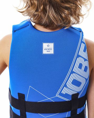 Jobe Neopren Vest Youth Blue Kinder Neoprenweste – Bild 3