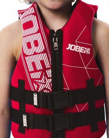 Jobe Neopren Vest Youth Red Kinder Neoprenweste – Bild 2