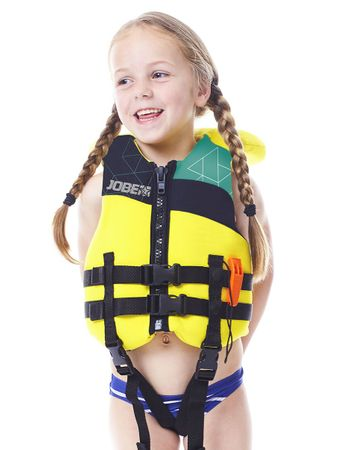 JOBE Progress Safety Vest Youth Neopren Rettungsweste bis 30 Kg – Bild 2
