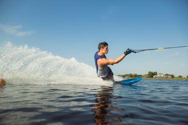 Jobe Rogue Salomski Monoski Waterski Package Deal with Binding – Bild 13