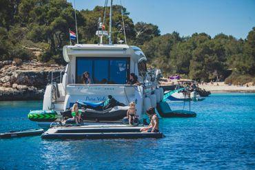 Jobe Infinity Island inflatable platform with pump – Bild 6