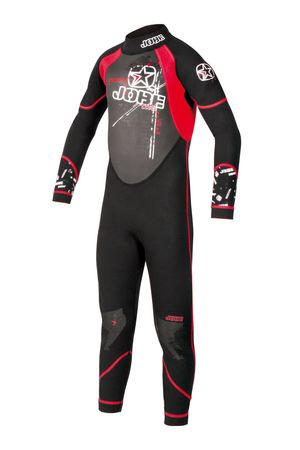 Jobe Full Suit Rebel Youth Red 3.0mm wetsuit