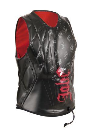 Jobe Impact Shield Alpha Red Prallschutzweste Competition Vest – Bild 1