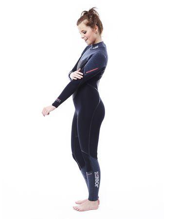Jobe Aspen 4/3 Slate Steamer Flex Full Suit Women semidry suit – Bild 8