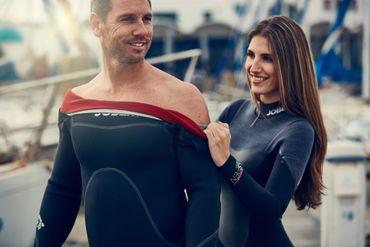 Jobe Aspen 4/3 Slate Steamer Flex Full Suit Women semidry suit – Bild 5