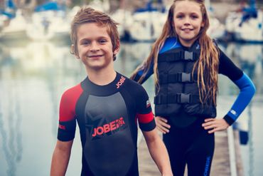 Jobe Progress Rebel blue 3/2.5 Full Suit Child Wetsuit – Bild 4