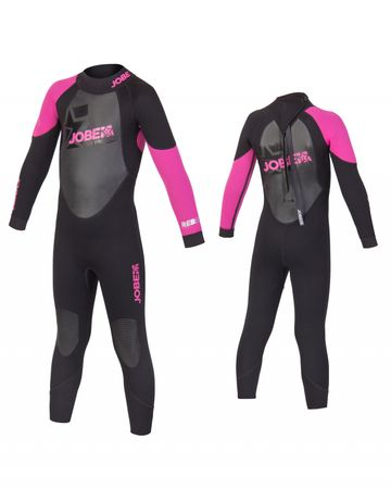Jobe Progress Rebel Pink 3/2.5 Full Suit Child Wetsuit – Bild 1