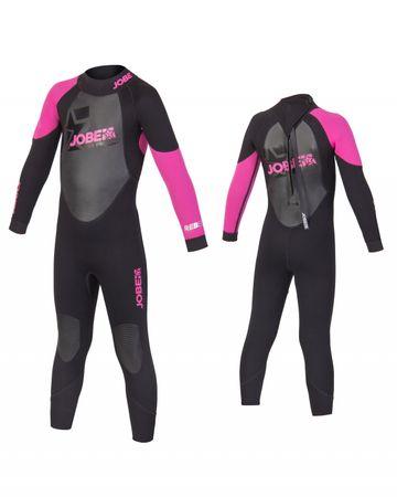Jobe Progress Rebel Pink 3/2.5 Full Suit Child Wetsuit – Bild 1