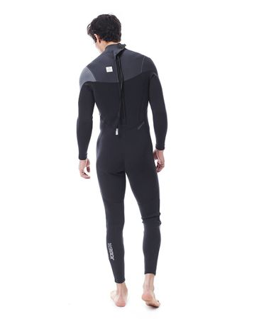 Jobe Perth 3/2mm Grey Wetsuit Men Herren Neoprenanzug – Bild 2
