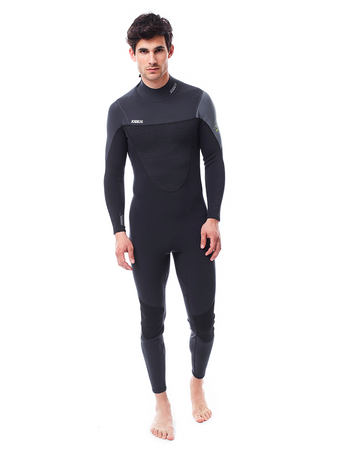 Jobe Perth 3/2mm Grey Wetsuit Men – Bild 1
