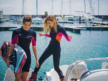 Jobe Sofia 3/2mm Pink Fullsuit Damen Neoprenanzug – Bild 6