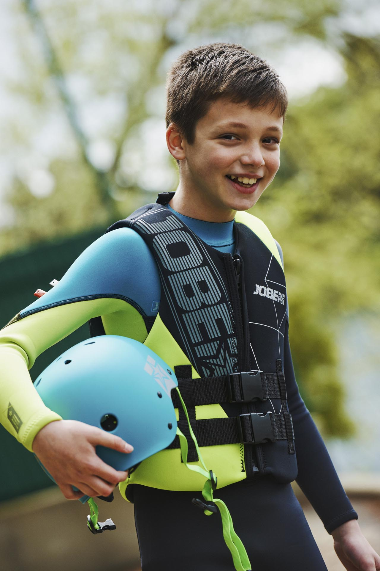 Jobe Boston 3/2mm Lime Wetsuit Youth Shop Wetsuits Kids ...