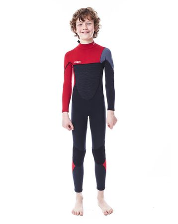 Jobe Boston 3/2mm Rot Neoprenanzug Kinder Fullsuit – Bild 1