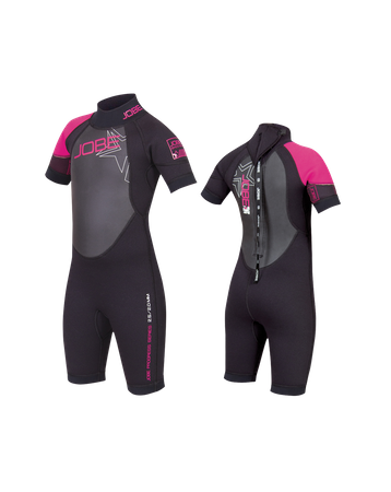 Jobe Progress Shorty Rebel 2.5/2.0 Youth wetsuit pink – Bild 1