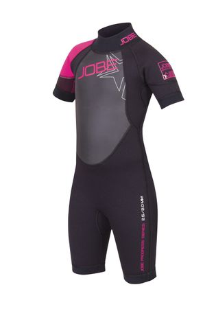 Jobe Progress Shorty Rebel 2.5/2.0 Youth wetsuit pink – Bild 2