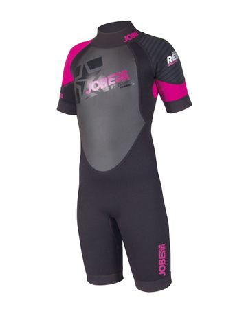 Jobe Progress Rebel Shorty 2.5/2.0 Kinder Neoprenanzug pink – Bild 2