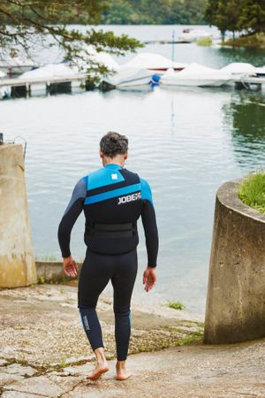 Jobe Perth Shorty 3/2mm Blue Wetsuit Men – Bild 7