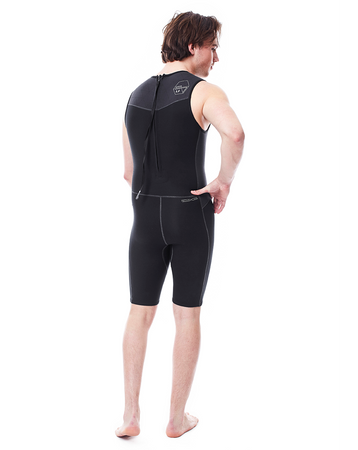 JOBE Perth Shorty 1.5mm Wetsuit Men ärmelloser Herren Neoprenanzug – Bild 2