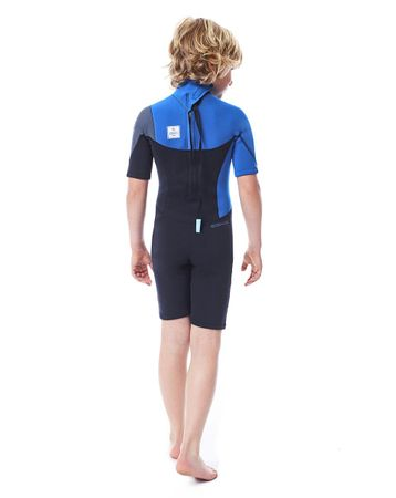 Jobe Boston Shorty 2mm Blue Wetsuit Youth – Bild 2