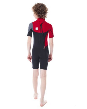 Jobe Boston Shorty 2mm Red Wetsuit Youth – Bild 2