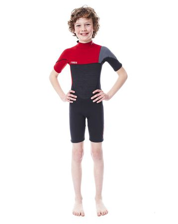 Jobe Boston Shorty 2mm Red Wetsuit Youth – Bild 1