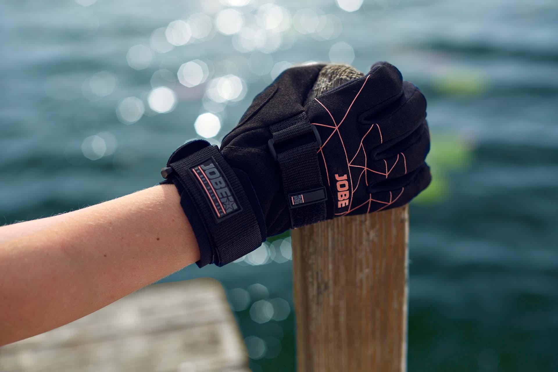 Bekleidung Handschuhe Jobe Grip Wassersport Handschuhe Herren