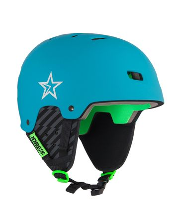 Jobe Base Wake Helmet Teal Blue Wassersport Helm