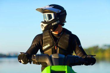 Jobe Detroit Full Face Helmet PWC & Jetski Schutzhelm – Bild 6