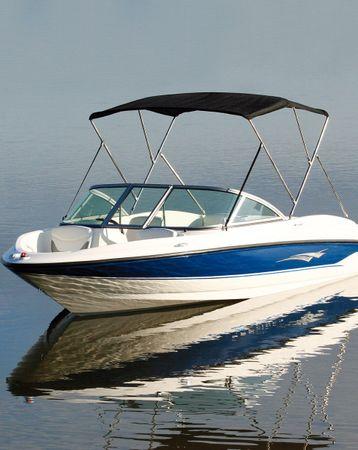 Jobe Boat Bimini Aluminium mit UV-geschütztem Nylon-Verdeck
