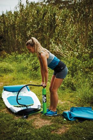 Jobe Yarra 10.6 Inflatable Paddle Board Package Aufblasbares Stand Up Paddle Board Komplettset Surf SUP – Bild 9