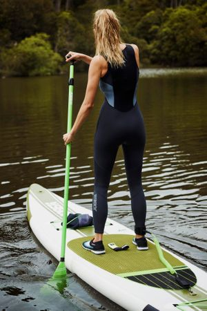Jobe Neva 12.6 Inflatable SUP Aufblasbares Stand Up Paddle Board Komplettset – Bild 6
