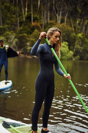 Jobe Neva 12.6 Inflatable SUP Aufblasbares Stand Up Paddle Board Komplettset – Bild 5