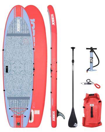 Jobe Lena 10.6 Yoga Inflatable Paddle Board Package Woman Aufblasbares Stand Up Paddle Board Komplettset Surf SUP – Bild 1