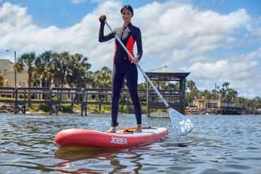 Jobe Yarra 10.6 Inflatable Paddle Board Package Woman Aufblasbares Stand Up Paddle Board Komplettset Surf SUP – Bild 2