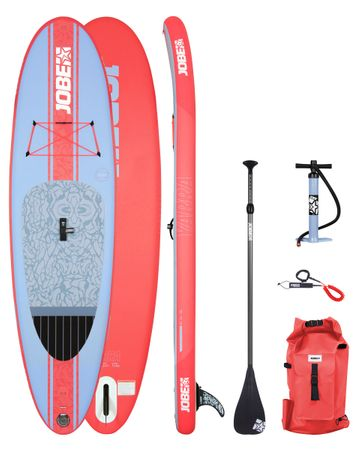 Jobe Yarra 10.6 Inflatable Paddle Board Package Woman Aufblasbares Stand Up Paddle Board Komplettset Surf SUP – Bild 1