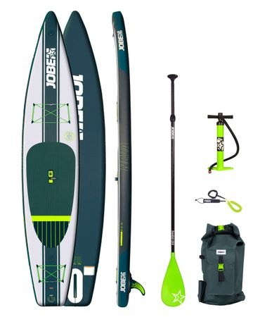 Jobe Neva 12.6 Inflatable SUP Aufblasbares Stand Up Paddle Board Komplettset – Bild 1