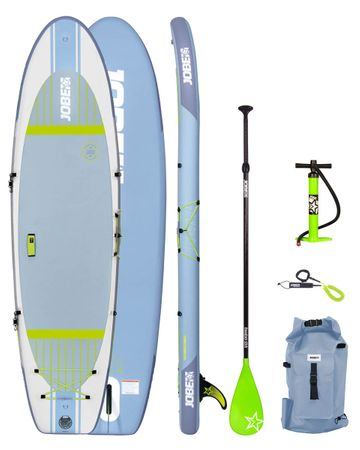 Jobe Lena 10.6 Yoga Inflatable Paddle Board Package Aufblasbares Stand Up Paddle Board Komplettset Surf SUP – Bild 1