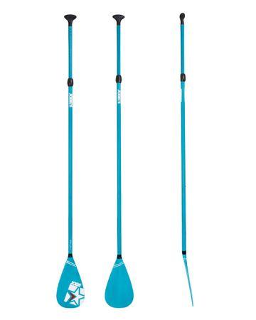 Jobe SUP Paddel Fiberglass Blau für Stand up Paddle Board