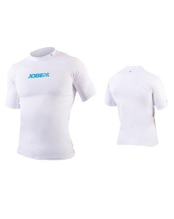Jobe Rashguard Men White Herren Lycra Shirt mit UV-Schutz 50+ weiß – Bild 1