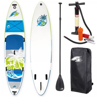 F2 I-SUP Aloha Green Stand Up Paddle Board Package Deal – Bild 1