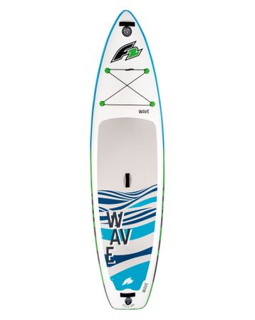 F2 I-SUP Wave Blue - Stand Up Paddle Board Komplettset blau – Bild 2