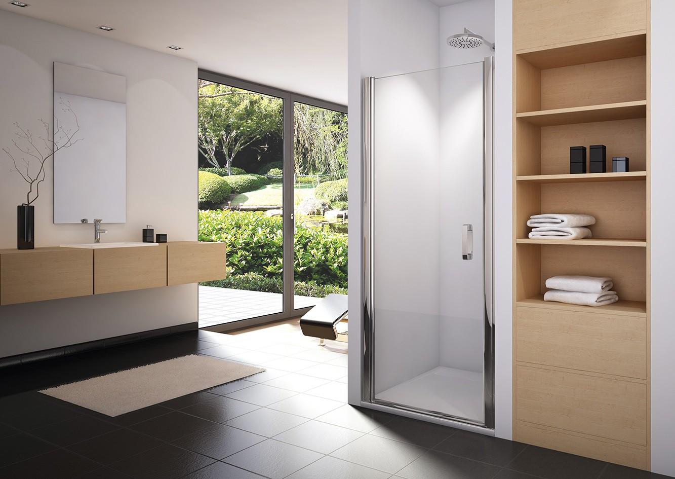 duscht r pendelt r nischent r ma anfertigung h he 150 bis 195 cm. Black Bedroom Furniture Sets. Home Design Ideas