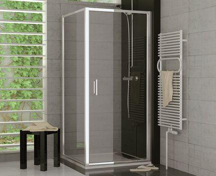 Dusche Pendeltür Seitenwand ab 70 x 70 x 190 cm