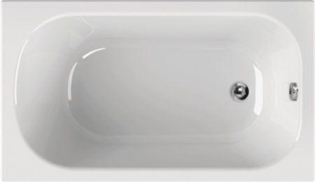 kleine rechteckige badewanne 130 x 70 cm f r kleines badezimmer. Black Bedroom Furniture Sets. Home Design Ideas