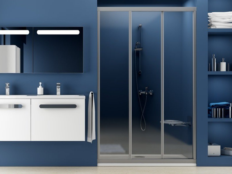 schiebet r nische dusche 120 x 190 cm duschabtrennung. Black Bedroom Furniture Sets. Home Design Ideas
