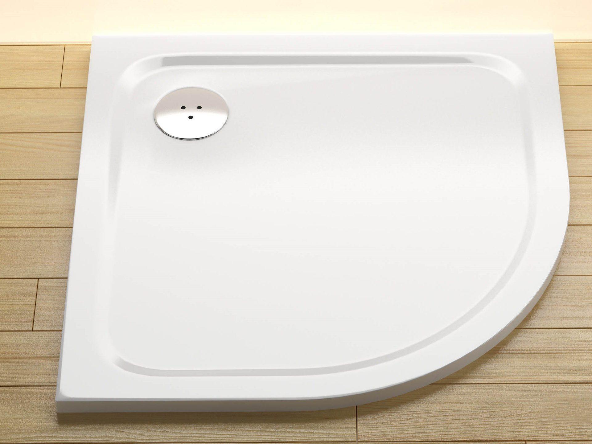 mineralguss duschtasse viertelkreis 90 x 90 x 1,5 cm r50 duschwanne
