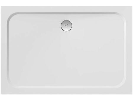 Gussmarmor Duschwanne 100 x 80 x 1,5 cm
