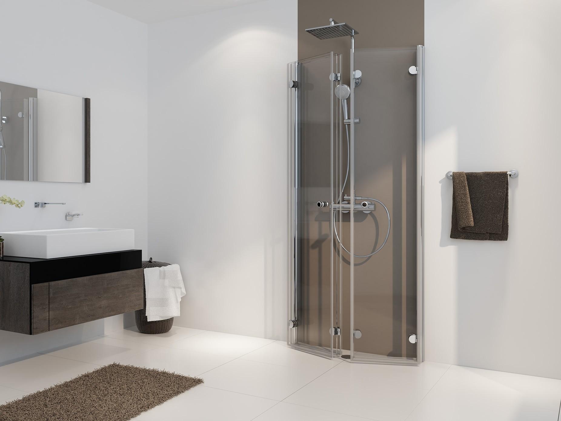 duschkabine u form faltt r 100 x 90 x 220 cm duschabtrennung dusche u form. Black Bedroom Furniture Sets. Home Design Ideas