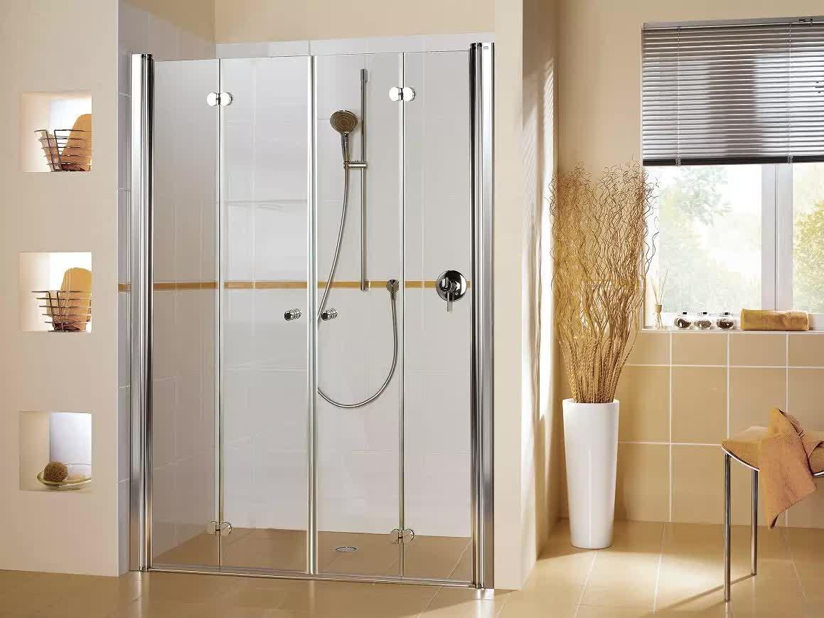 duscht r drehfaltt r 150 x 220 cm duschabtrennung duscht ren duscht r 150. Black Bedroom Furniture Sets. Home Design Ideas