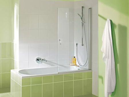 Badewannen Duschaufsatz 70 x 140 cm